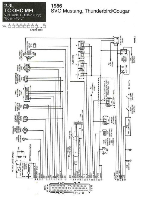 1984 Ford Ignition Wiring by 65 Ford Mustang Ignition Wiring Diagrams Auto Electrical