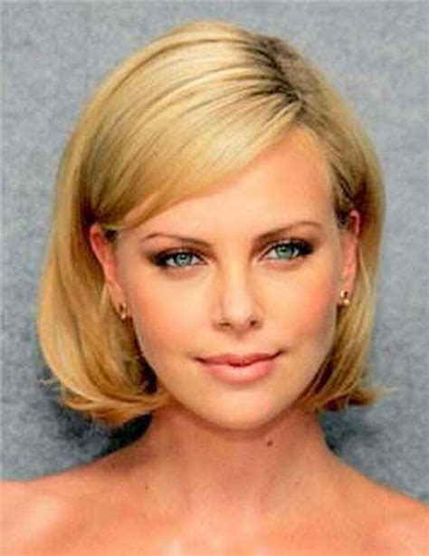 short straight hairstyles   faces short