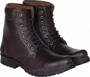 Kraasa Long Cowboy Boots For Men - Buy Brown Color Kraasa ...
