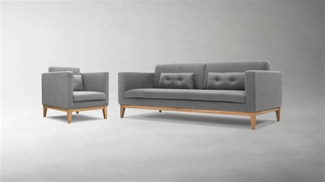 Light Grey Chair Day Sofa And Easy Chair By Design House Stockholm