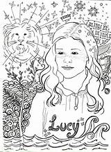 Coloring Narnia Lucy Pevensie Chronicles Susan Sheets Colorare Colouring Sheet Aslan Peter Edmund Template Witch Coloringpagesfortoddlers sketch template