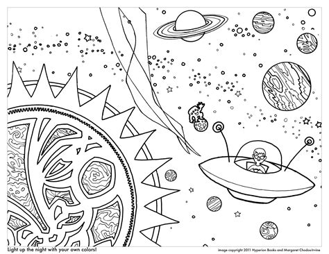 Outer Space For Kids Free Coloring Pages On Art Coloring