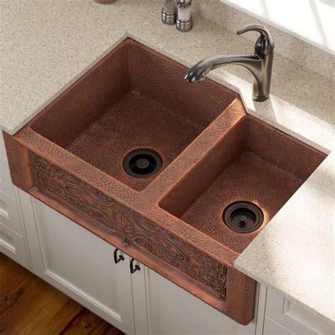 undermount copper kitchen sink custom copper