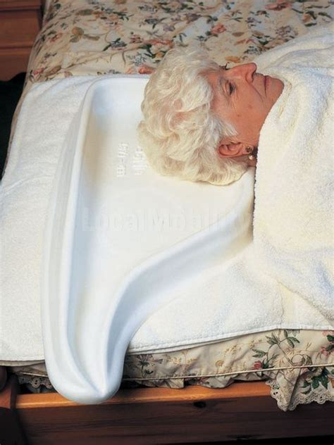 hair washing tray  bed local mobility