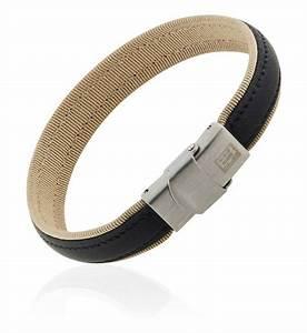 bracelet homme acier cuir et textile clio blue beige et With robe fourreau combiné avec bracelet cuir acier