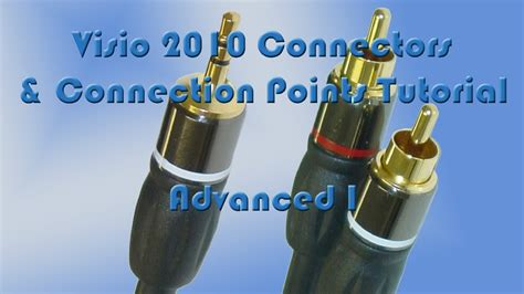 Visio Connectors Connection Points Tutorial