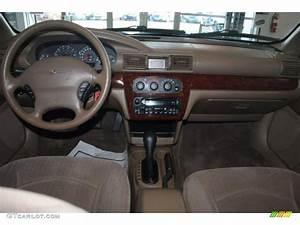 2002 Chrysler Sebring Lx Sedan Sandstone Dashboard Photo
