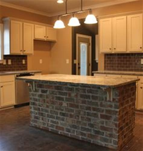 kitchen island brick 1000 images about kitchen brick island on 1849