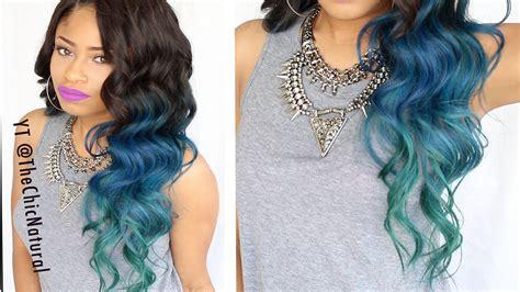 Mermaid Hair Color Diy!