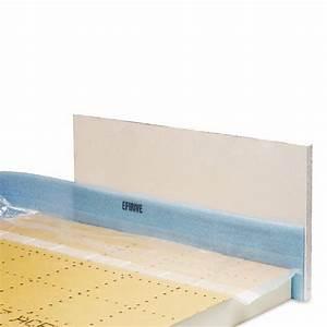 Prix Plancher Chauffant Electrique : bande de rive efirive efisol largeur 150 mm p 5 mm ~ Premium-room.com Idées de Décoration