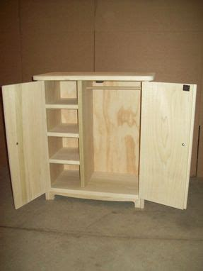 Doll Clothes Armoire by Custom 18 Quot Doll Armoire By Pine Grove Woodshop