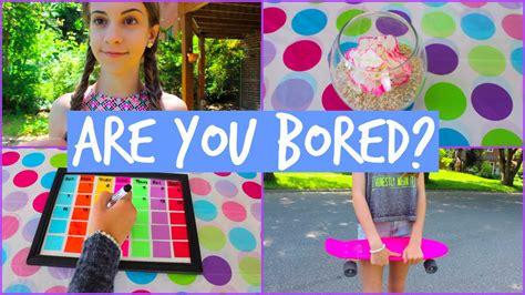 youre bored   summer diys