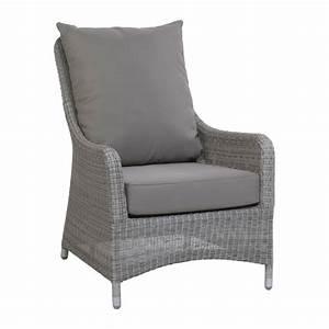 Fauteuil De Salon De Jardin : fauteuil de jardin confortable en r sine tress e brin d 39 ouest ~ Melissatoandfro.com Idées de Décoration