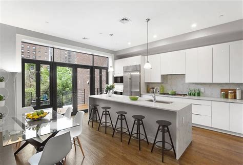 white tile backsplash 27 most hilarious one wall kitchen design ideas and
