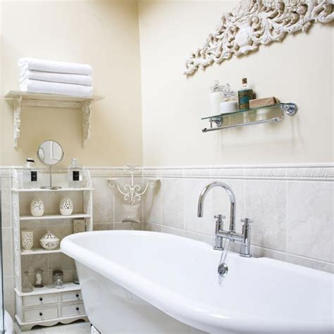 shabby chic bathroom ideas uk shabby chic bathroom designs and inspiration ideal home
