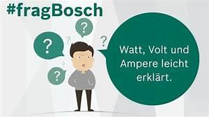 Watt Volt Ampere : watt volt und ampere leicht erkl rt tutorial fragbosch ~ A.2002-acura-tl-radio.info Haus und Dekorationen