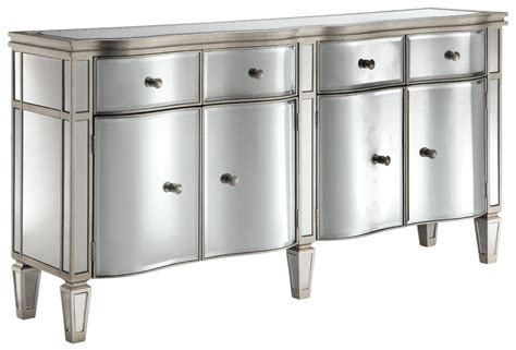 Silver Sideboard by Tatum Antique Silver Sideboard From Steinworld 13280