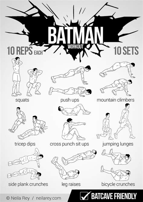 na na na batman workout gag