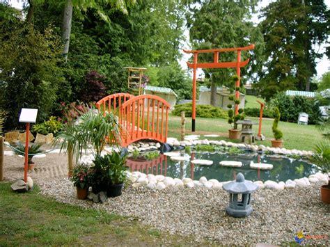 bild galeria decoration de jardin japonais