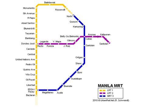 les types de chambres dans un hotel manille carte du métro carte détaillée du