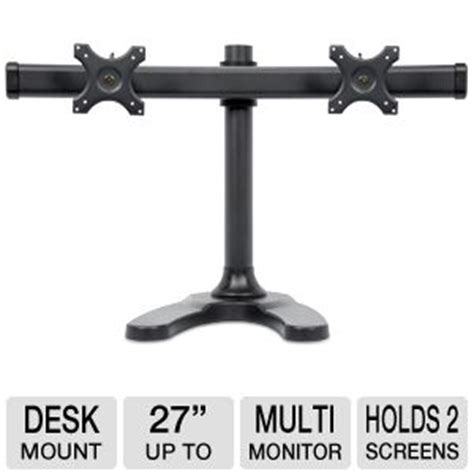inland 05322 dual lcd desk mount inland 05322 dual lcd desk mount holds 2 screens up to