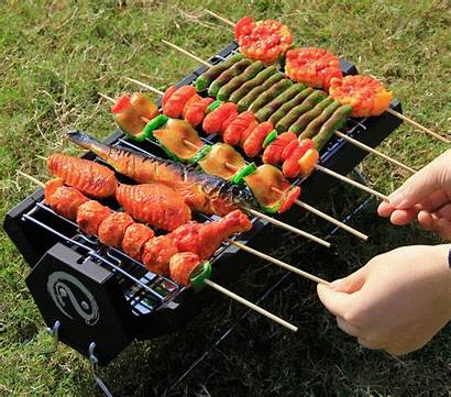 Bbq Wolfwise Portable Charcoal Foldable Grill Carbon