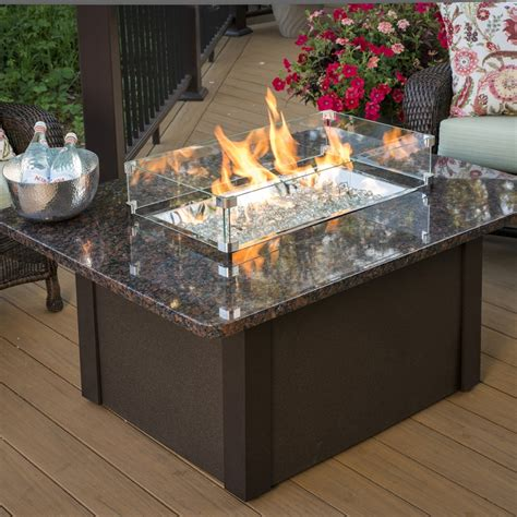 propane gas fire pit outdoor table by blue rhino shop outdoor greatroom company 36 in w 65000 btu british