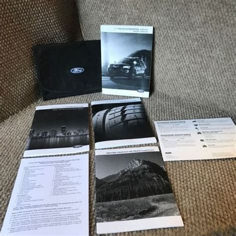 sell  ford explorer police interceptor owners manual