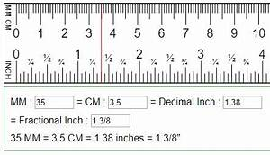 50 Mm En Cm : convert mm cm to fraction or decimal inches in mm cm ~ Dailycaller-alerts.com Idées de Décoration