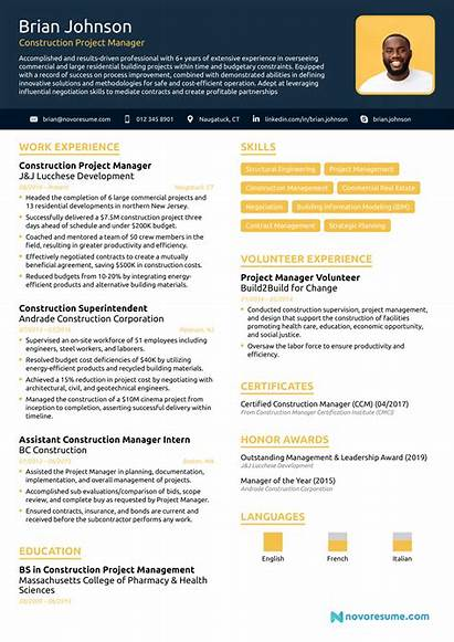 Resume Manager Construction Project Example Create Builder