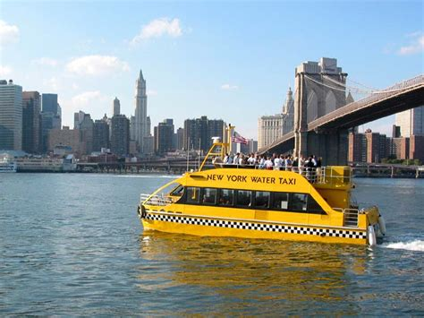 Boat Transport Ny by New York Water Taxi Ferries