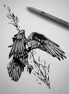 Dessin Fleche Tatouage : dessin tatouage plus de 40 mod les originaux pour toute partie du corps ~ Melissatoandfro.com Idées de Décoration