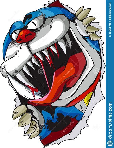 vector monster doraemon illustrations editorial photo