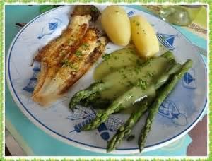 cuisiner asperges vertes filets de soles aux pointes d 39 asperges vertes recette
