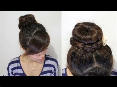 Cute Bun Hairstyles for Long Hair