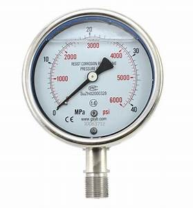 China Stainless Steel Pressure Gauge  Yn-100bf
