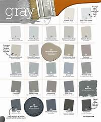 shades of grey color Many Shades of Gray Paint - Interiors By Color