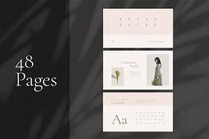 Elegant Brand Style Guide Template -