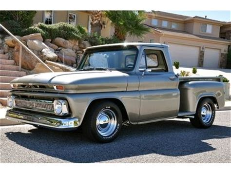 Find New '66 Chevrolet C10 Stepside Pickup Beautiful
