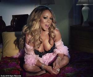 Mariah Carey Sizzles In Skimpy Lingerie In New Music Video