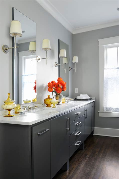 popular bathroom paint colors  homes gardens
