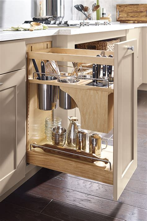 kitchen base cabinet pull outs base utensil pantry pull out cabinet with knife block 7723