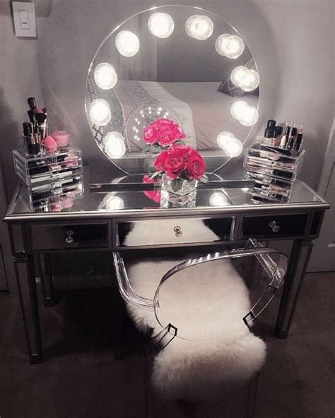 best 25 mirrored vanity table ideas on white