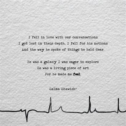 Lost Quotes Poems Fell He Heartbeat Conversations