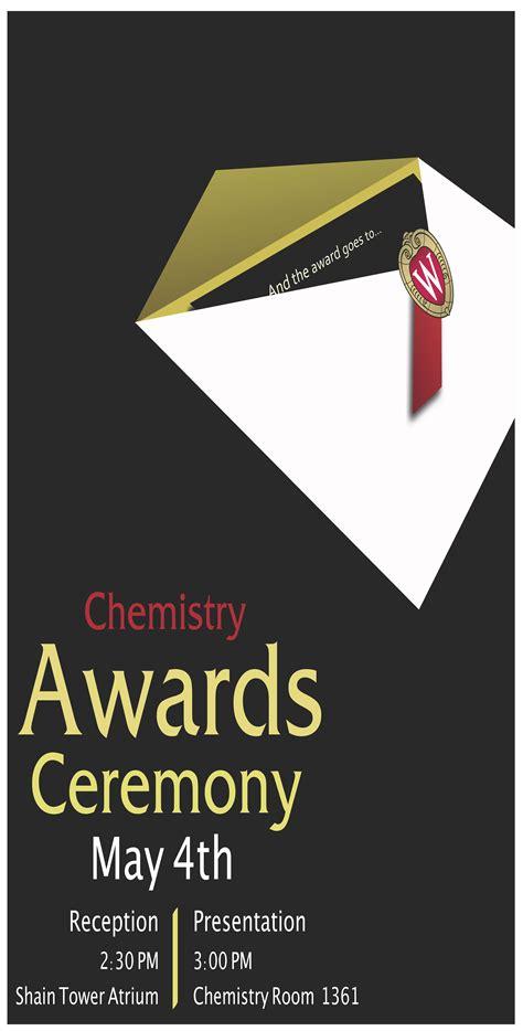 department fo chemistry awards ceremony uw madison