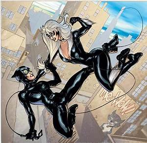 DC VS. Marvel: Catwoman vs. Black Cat | Funk's House of ...
