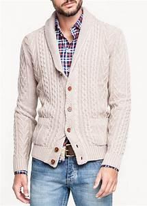 Pull Laine Homme Grosse Maille : cardigan col blanc mango mode conseils mode ~ Melissatoandfro.com Idées de Décoration