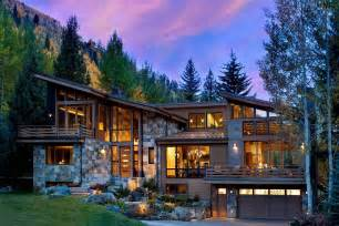Top Photos Ideas For Modern Rustic Home Plans by Colorado Mountain Home By Suman Architects Leaves Your
