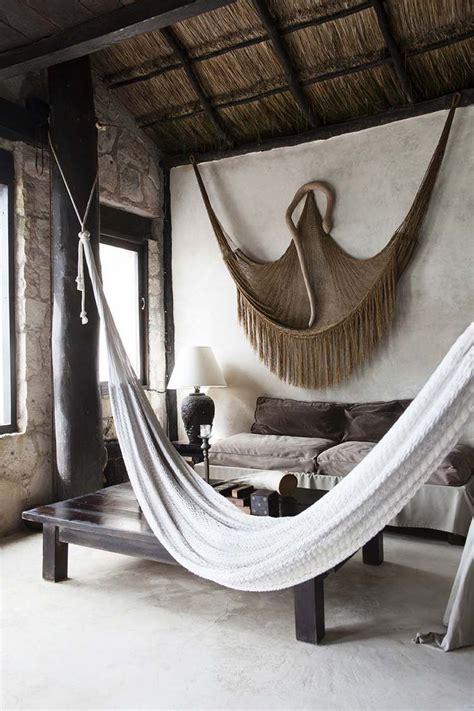 Hängematte Für Wohnzimmer by H 228 Ngematte Befestigen Wohnzimmer Im Afrika Stil Wohnen