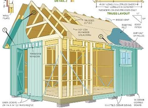 outdoor shed foundation  investment  shed plans shed plans package